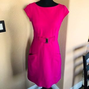 Pink cocktail dress size 4